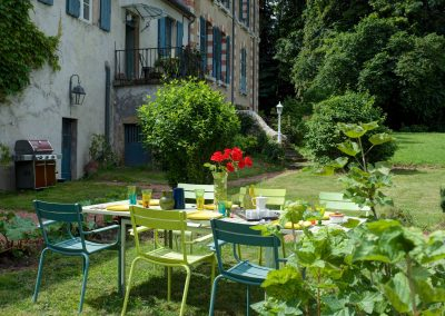 bed & breakfast chateau saint etienne - garden