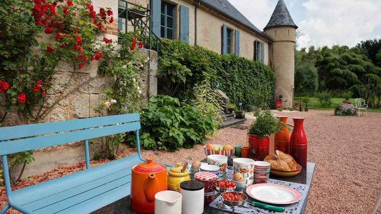 Continental or Scandinavian breakfast bed and breakfast saint gerand le puy bourbonnais allier